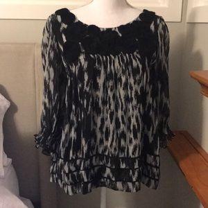 ECI New York medium blouse